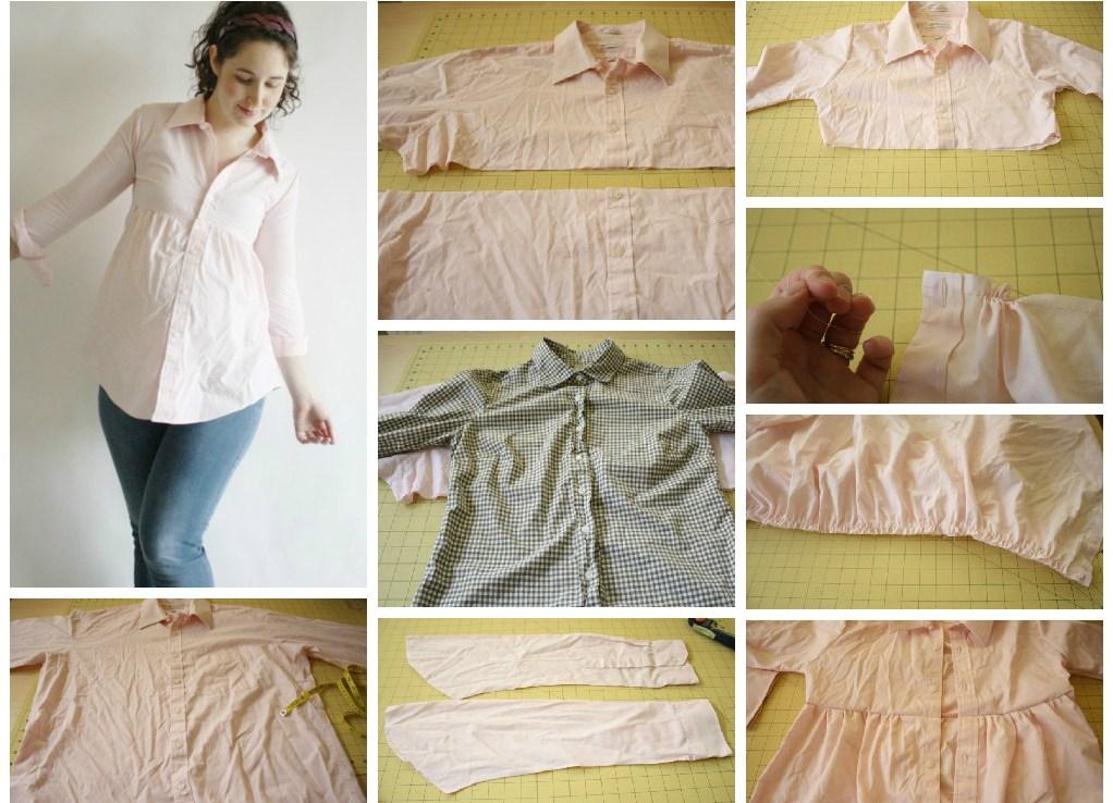 Как сшить своими руками платье для беременных 18