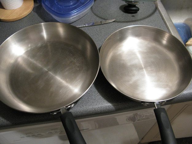 Чистите сковородки