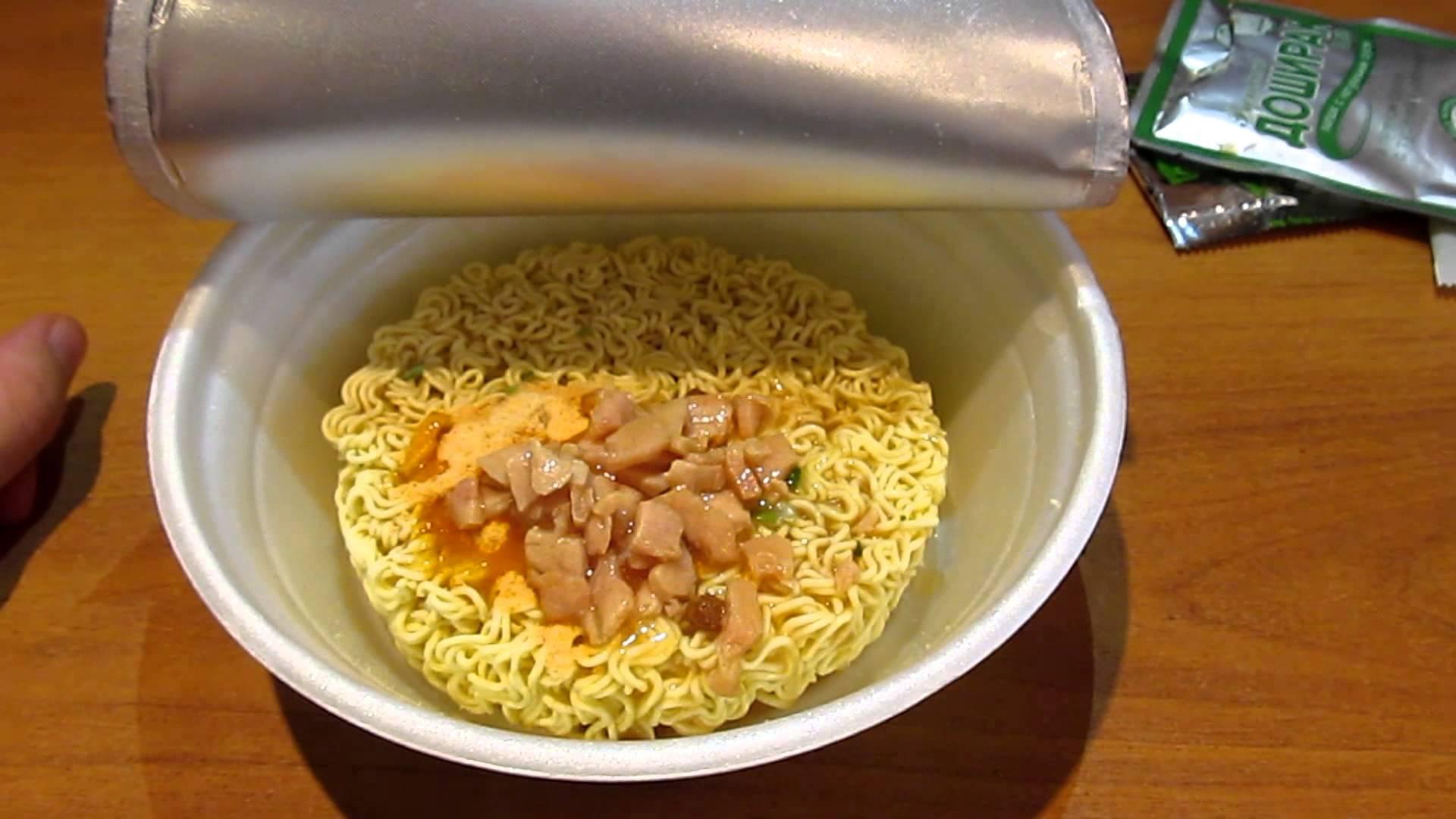 Китайские макароны в пакетах рецепт с фото