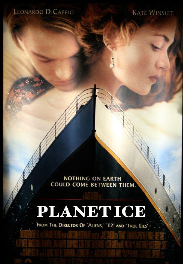 Изначально фильм хотели назвать «Планета льда»