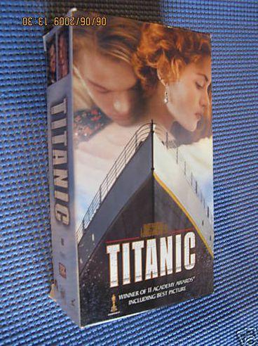 «Титаник» на видео
