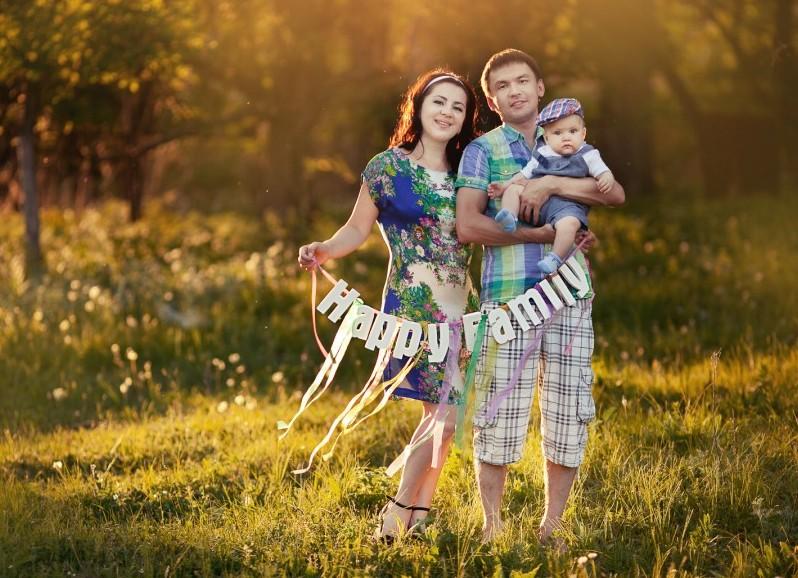 семейная фотосессия на природе идеи фото