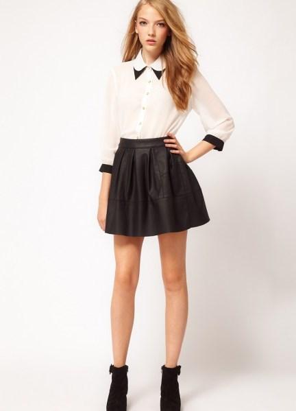 Пышные юбки миди 2015. Самыми популярными моделями умеренной длины остаются юбки в стиле стиляг. Фасоны 50-х и 60-х годов все также на пике популярности
