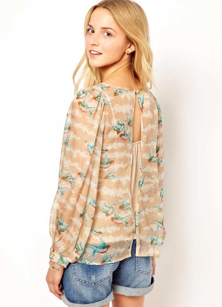 Фасоны летних блузок