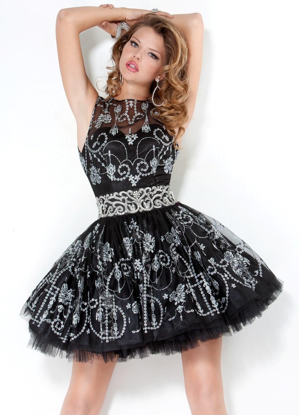 Обувь для черного пышного платья