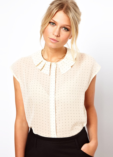 блузки из трикотажа 2015 фото новинки