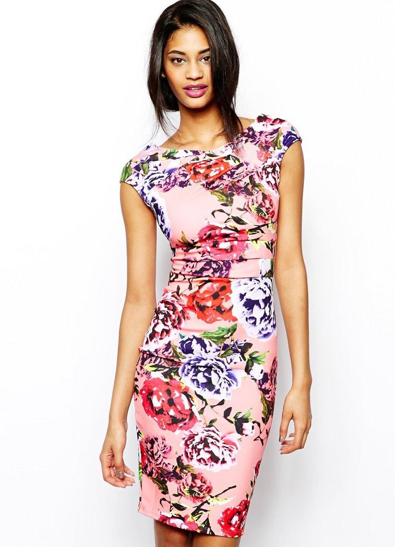 Модели летнего платья футляр