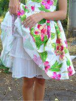 Нижняя юбка под летнее платье