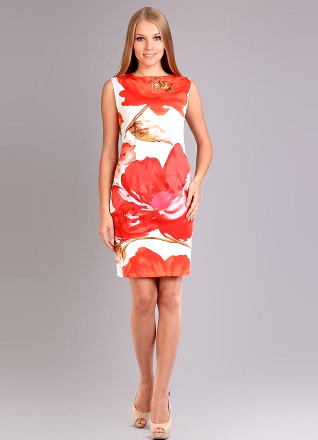 Летнее платье из трикотажа