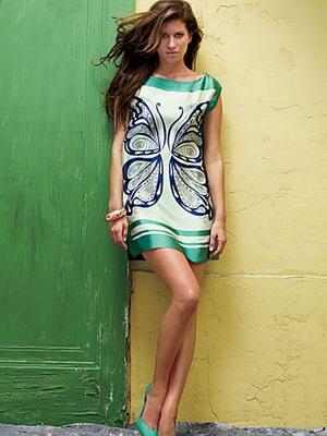 Летние фасоны платья из сатина