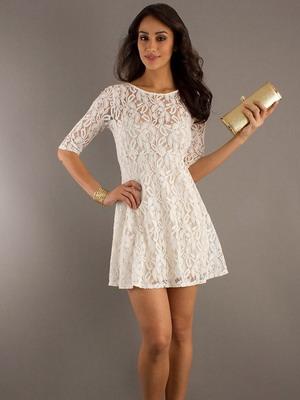 Короткие платья легкие фото
