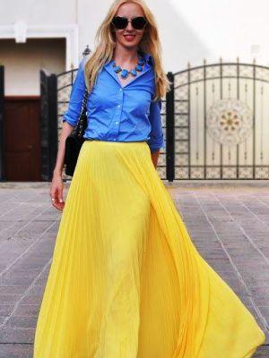 Летние легкие юбки