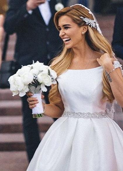 Ксения бородина свадебное платье
