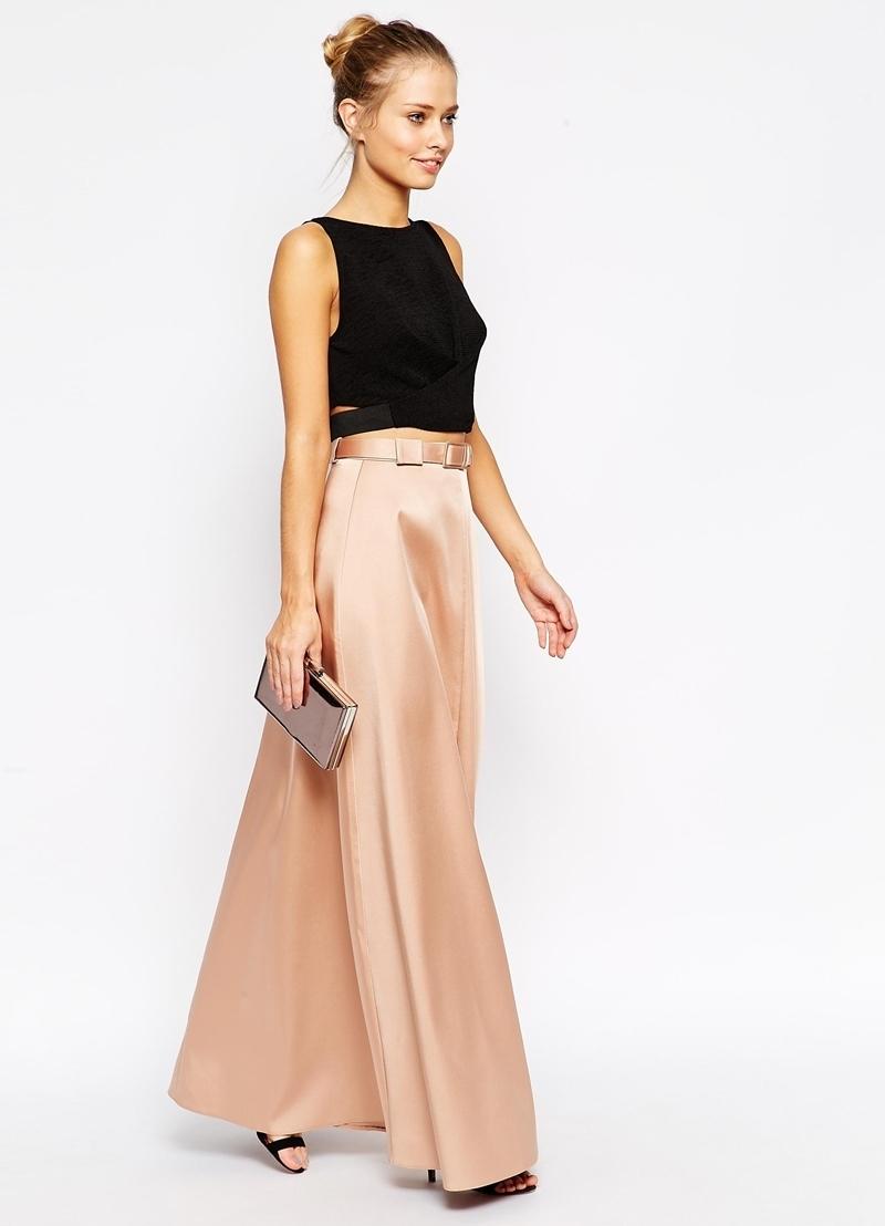 Атласные кофты с юбками