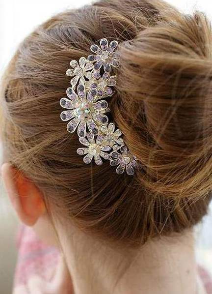 Гребень в волосы на свадьбу