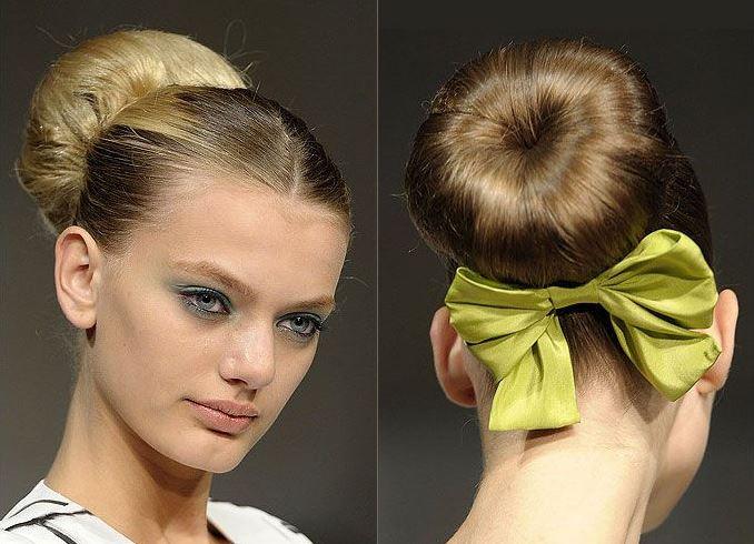 Резинка для волос бублик своими руками