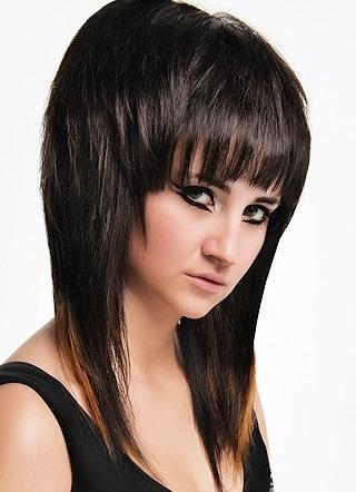 Красивые модные стрижки на средние волосы