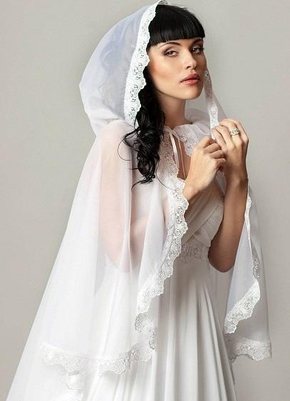 Платок для невесты своими руками