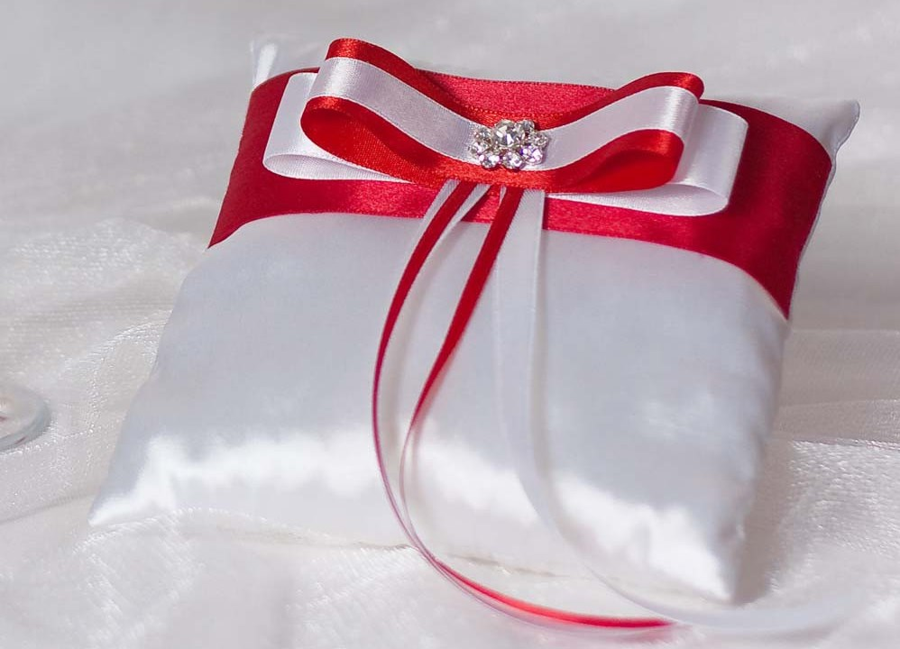 Подушечки для свадьбы