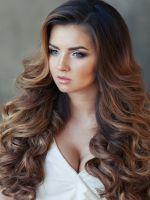 Прически с волосами на заколках