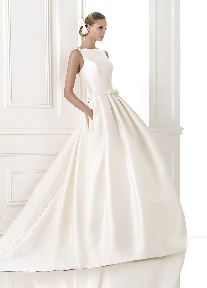 эксклюзивные свадебные платья 2015 10