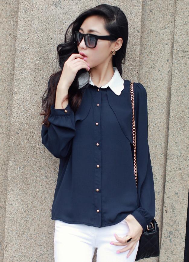 Блузки модные тенденции