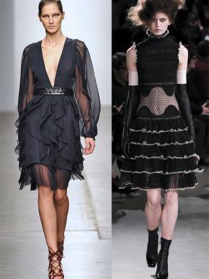 Модные платья осеньм 2015