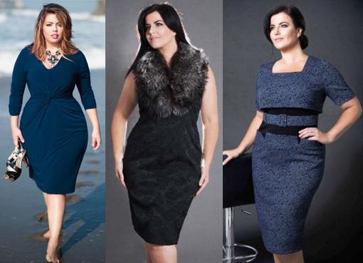 Модные платья 2016 осень для полных