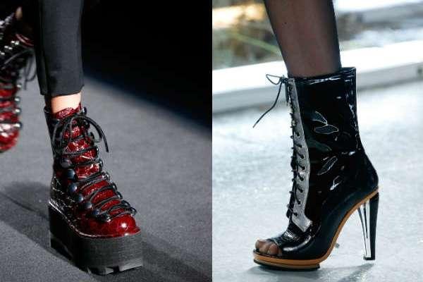 Модная женская обувь сезона осень-зима 2015-2016 года - яркие тренды