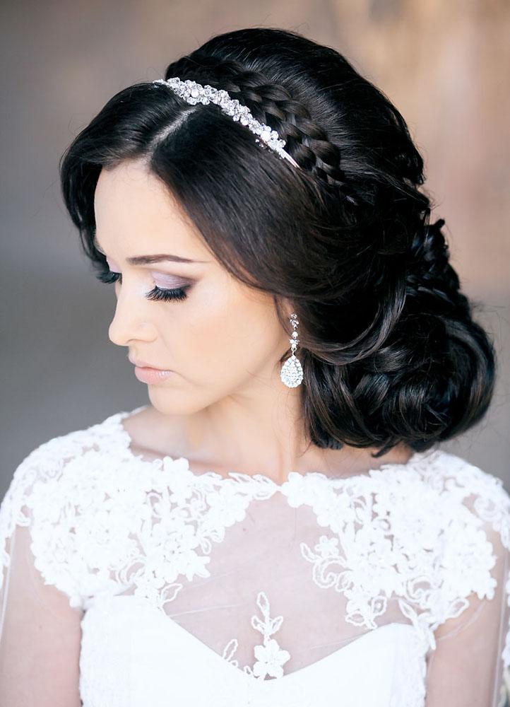 прическа на свадьбу самая красивая