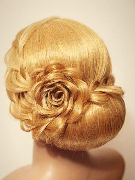 Вечерние прически для волос средней длины мастер классы