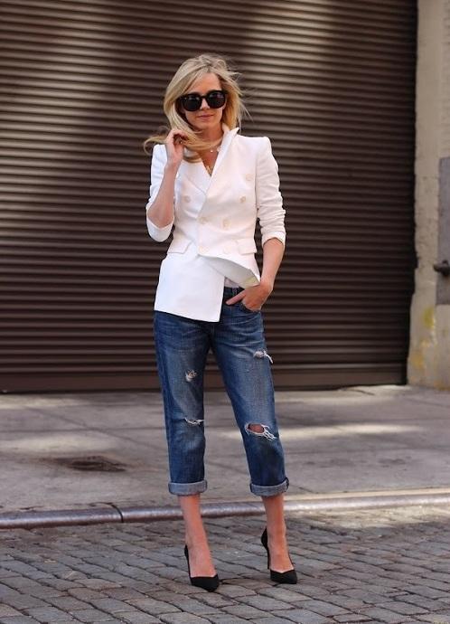 Как сделать подкаты на джинсах девушке