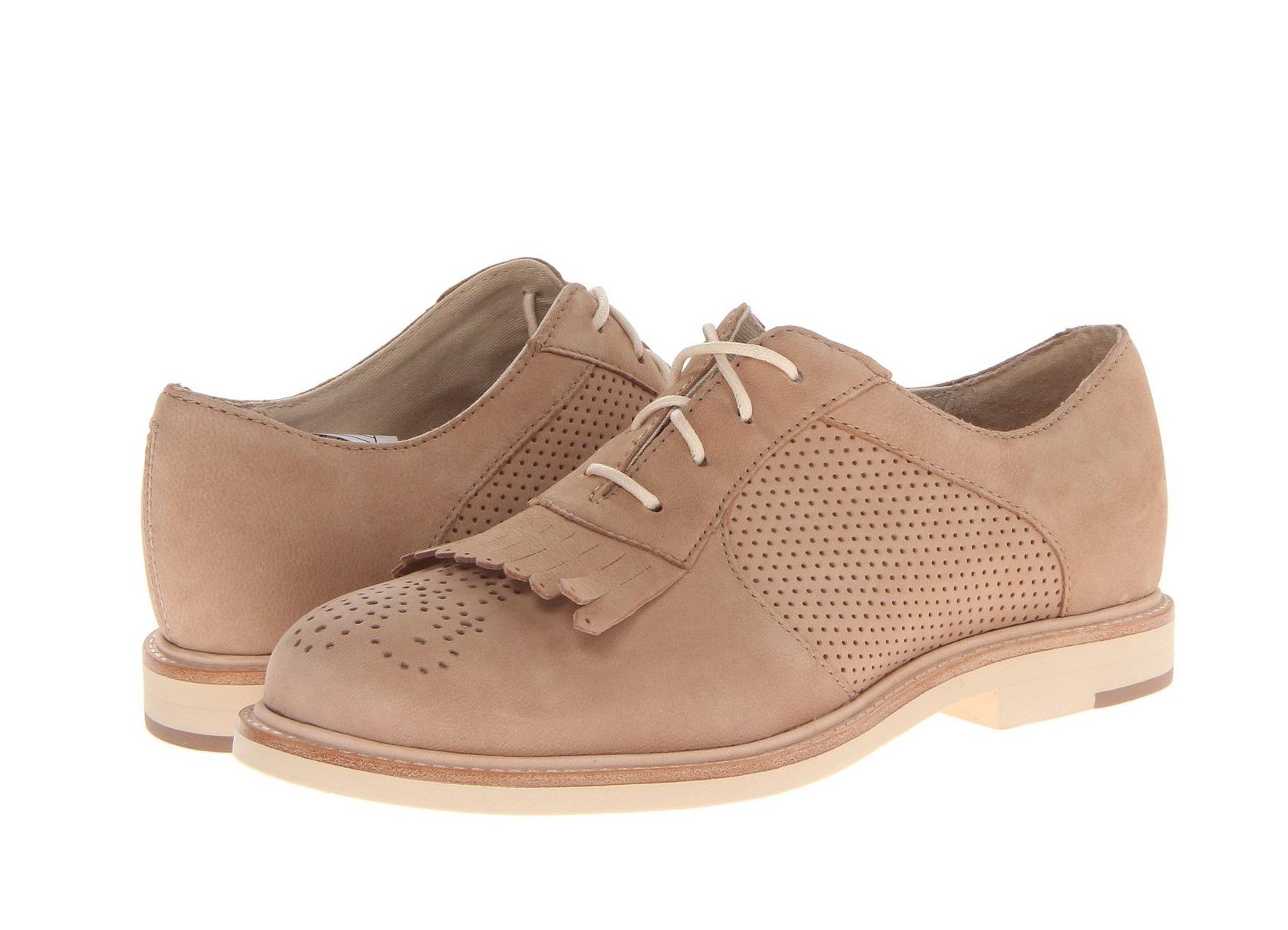 осенние женские туфли на низком