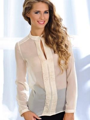 блузки с длинным рукавом фото