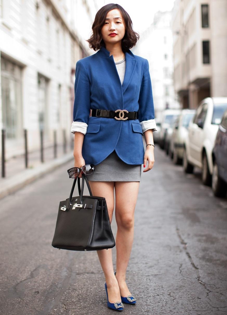С чем носить блейзер женский