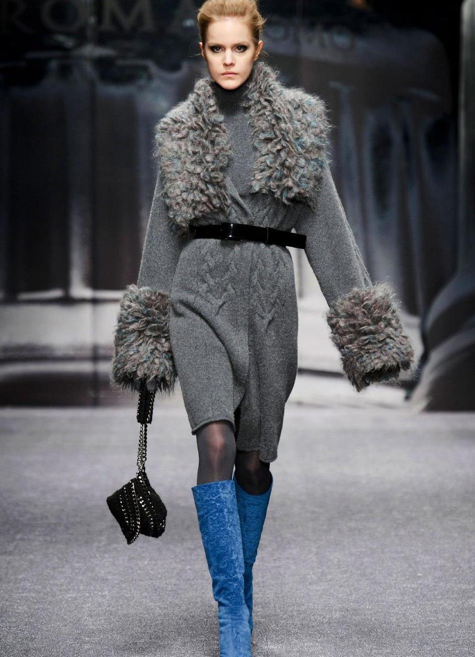 Городская мода вязание 91