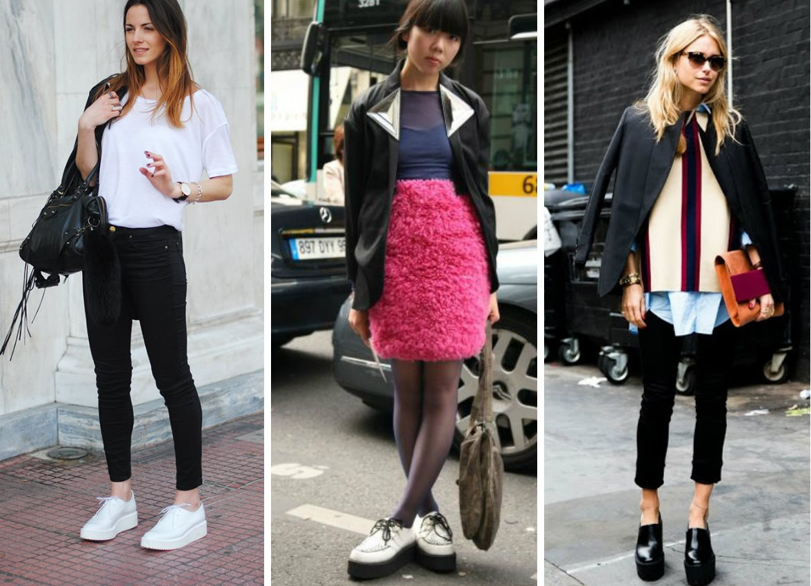 С чем носить ботинки женщинам?