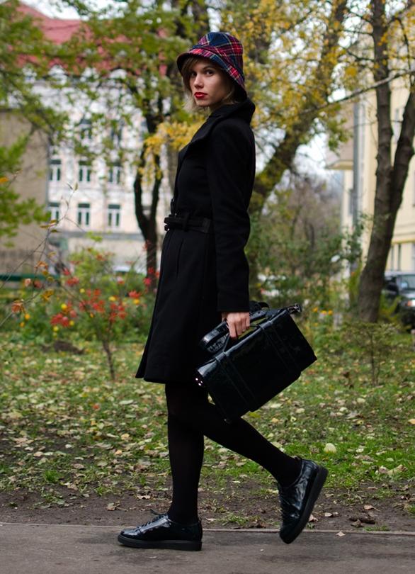 С чем носят лакированные ботинки женские фото