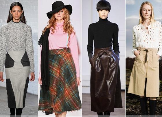 Модные Юбки Осень 2015 Доставка