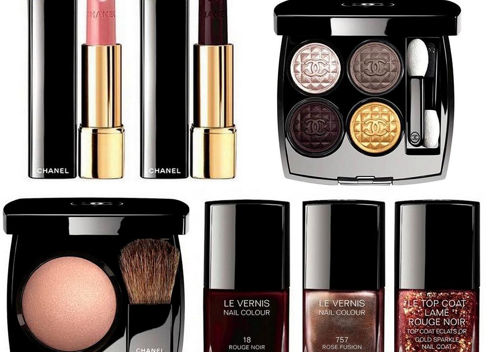 Рождественская коллекция макияжа 2016 шанель