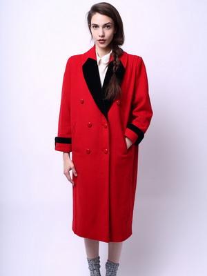 Драповые пальто для девушки фото