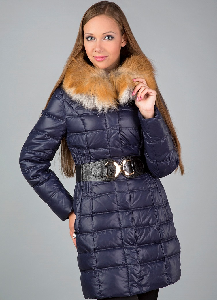 Зимние куртки на кроличьей подкладке