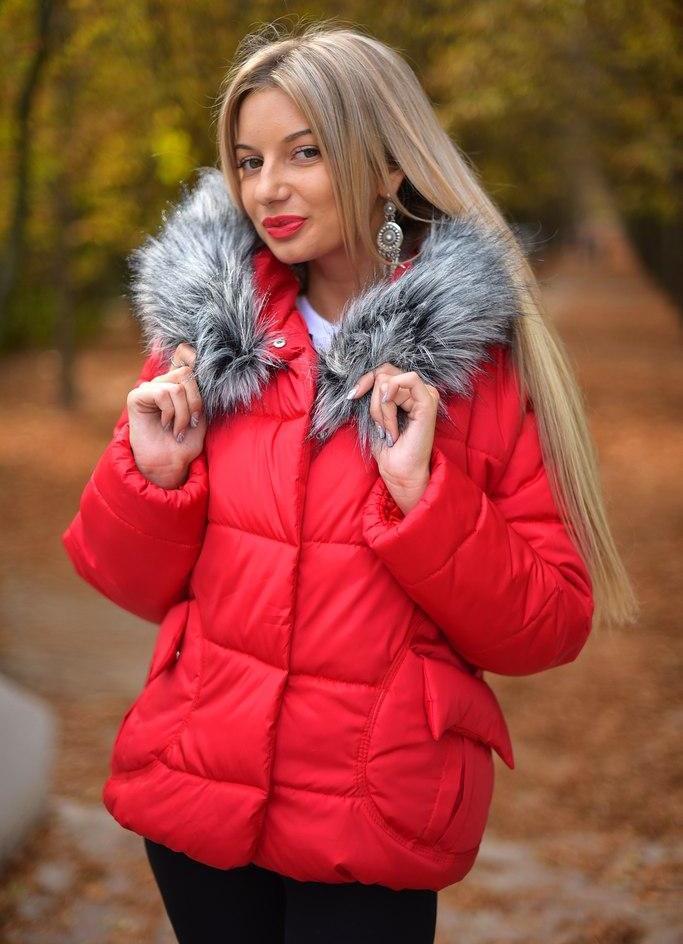 Зимние куртки на синтепоне женские с мехом цены