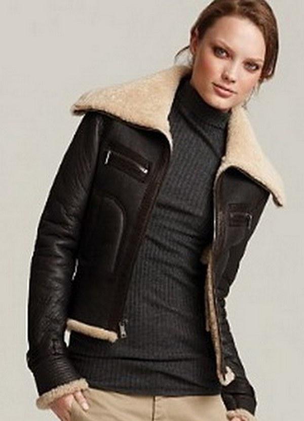Куртки с мехом женские