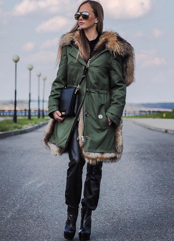 Зимние парки одежда