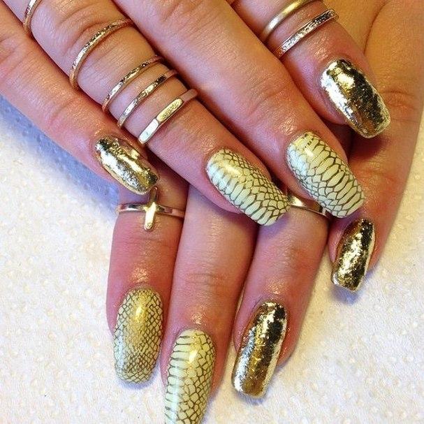 Фото дизайна ногтей осень зима