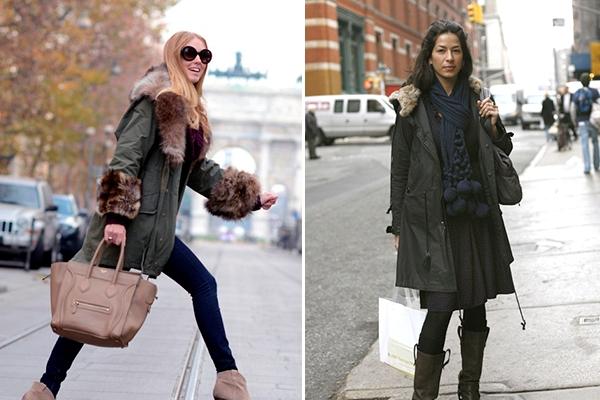 Зимнюю куртку с чем носить