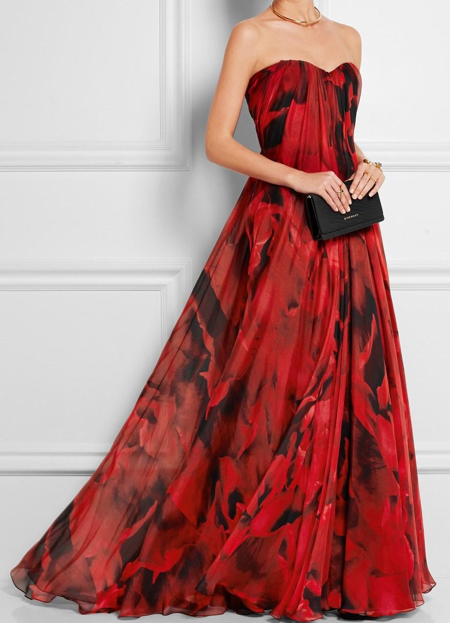 Современное вечернее платье