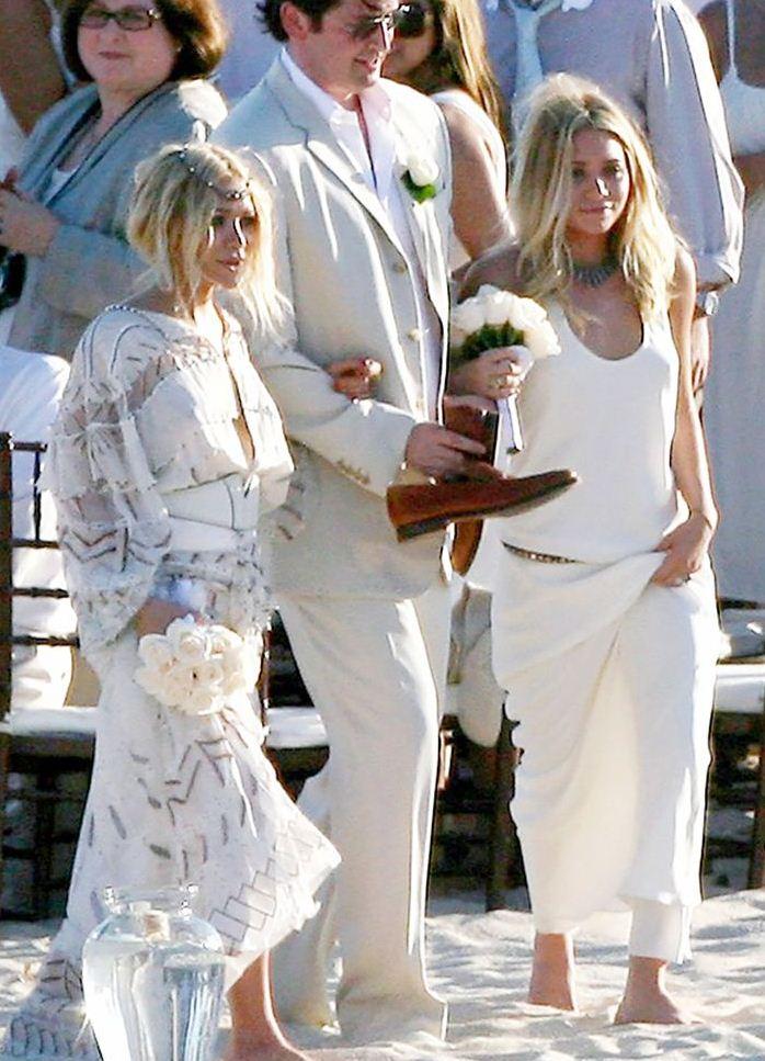 Олсен и саркози свадьба