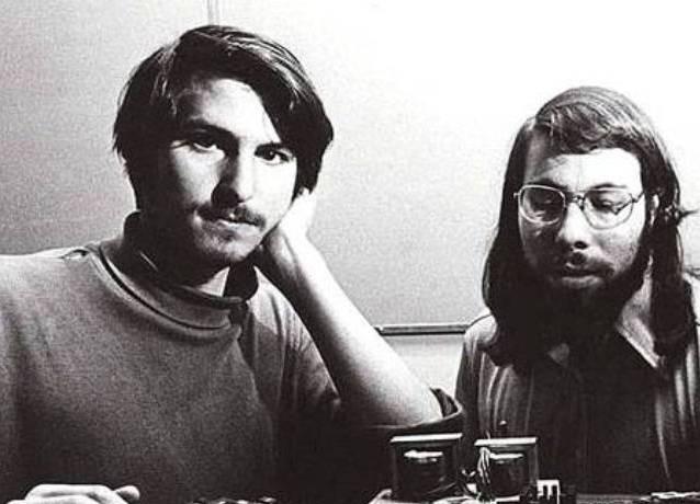 the origin of the apple inc organization and business by steve wozniak and steve jobs